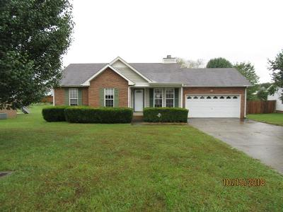 Christian County, Ky, Todd County, Ky, Montgomery County Single Family Home For Sale: 1945 Berkshire Dr