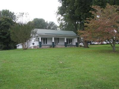 Shelbyville Single Family Home For Sale: 361 Robinson Rd
