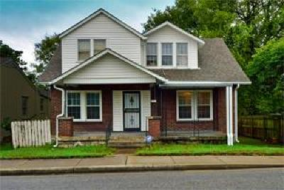 Davidson County Single Family Home For Sale: 1030 28th Ave N