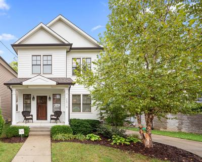 Nashville Single Family Home For Sale: 2416 9th Ave S