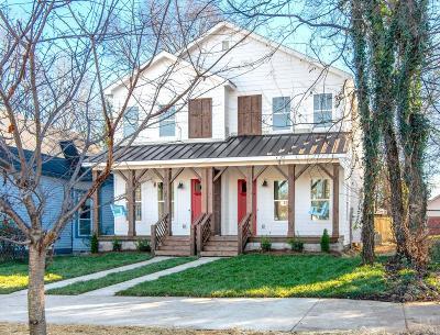 Nashville Single Family Home For Sale: 1017 B Monroe St