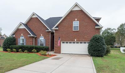 Single Family Home For Sale: 1211 Starnes Ct
