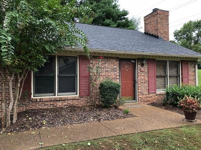Davidson County Condo/Townhouse For Sale: 721 Kent Rd
