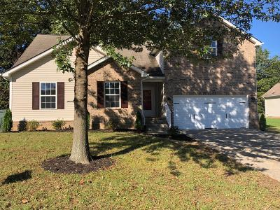 Robertson County Single Family Home For Sale: 117 Willowleaf Lane