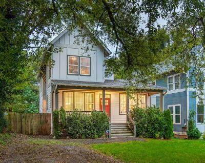 Nashville Single Family Home For Sale: 1137 A Kirkland Ave