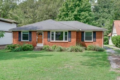 Nashville Single Family Home For Sale: 3731 Granny White Pike