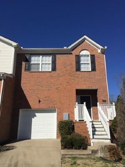 Davidson County Condo/Townhouse For Sale: 124 Canton Ct