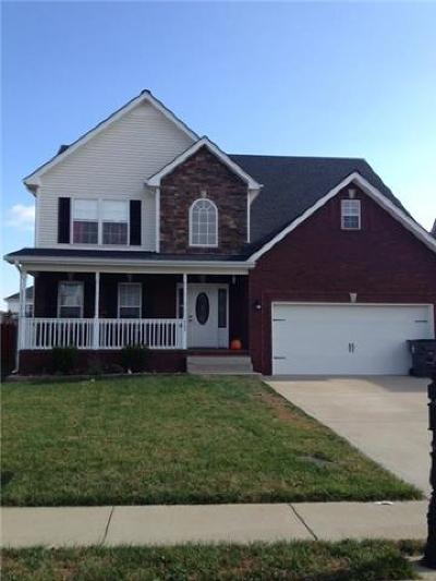 Clarksville Rental For Rent: 1345 Chinook Circle