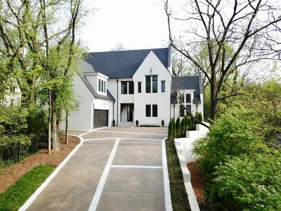 Nashville Single Family Home For Sale: 3803 Abbott Martin