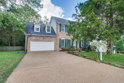 Mount Juliet Single Family Home For Sale: 2402 Brookstone Pl