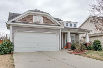 Mount Juliet TN Single Family Home For Sale: $289,900