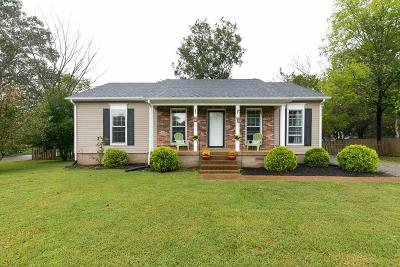 Mount Juliet Single Family Home For Sale: 401 Sunset Dr