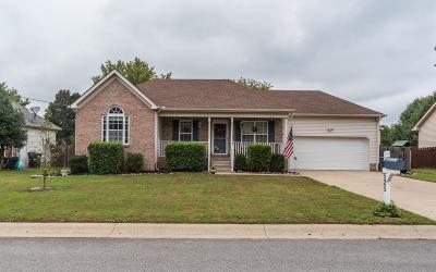 Mount Juliet TN Single Family Home For Sale: $238,000