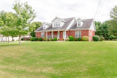 Murfreesboro Single Family Home For Sale: 9744 Jefferson Valley Dr