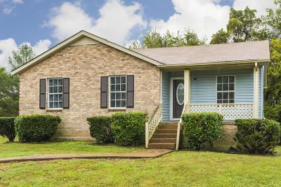 Springfield TN Single Family Home For Sale: $165,000