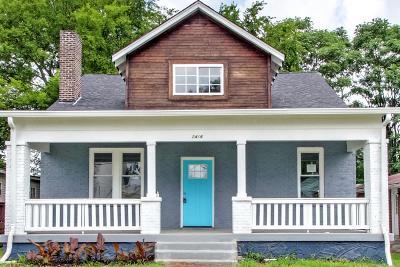 Davidson County Single Family Home For Sale: 2416 Scovel St