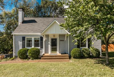 Nashville Single Family Home For Sale: 2956 Primrose Cir