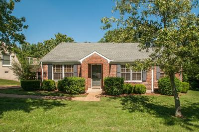 Nashville Single Family Home For Sale: 5640 Stoneway Trl
