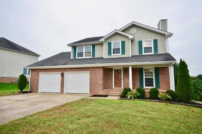 Clarksville Single Family Home For Sale: 1765 Viola Ct