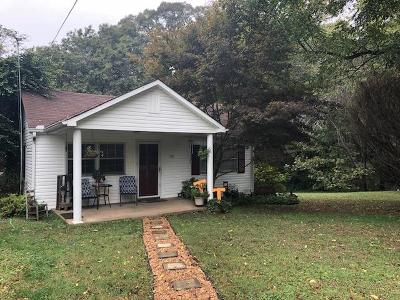 Clarksville Single Family Home Active Under Contract: 1752 Cumberland Heights Rd