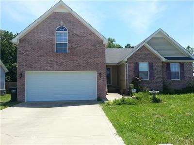 Clarksville Rental For Rent: 896 Glen Ellen Way