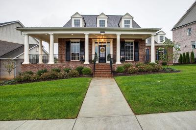 Nolensville Single Family Home Under Contract - Showing: 613 Vickery Park Dr