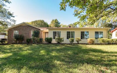 Hendersonville Single Family Home Under Contract - Showing: 109 Laurel Ln