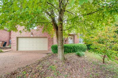 Davidson County Single Family Home For Sale: 408 Rivercrest Ct