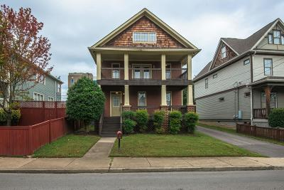 Nashville Single Family Home For Sale: 912 Phillips St