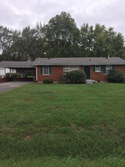 Nashville Rental For Rent: 3018 Hummingbird Dr