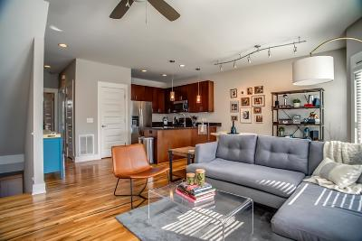 Nashville Condo/Townhouse For Sale: 1701 6th Ave N Unit 3