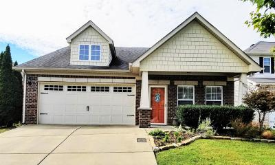 Nashville Single Family Home Under Contract - Showing: 1553 Bending River Dr