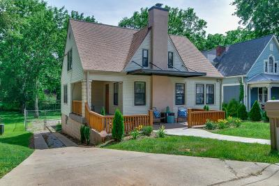 East Nashville Single Family Home For Sale: 1032 Sharpe Ave