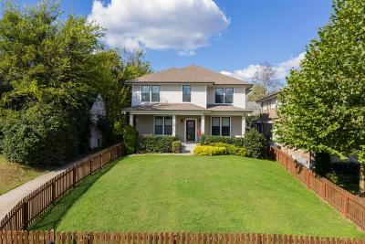 Nashville Single Family Home For Sale: 2304 Sunset Pl