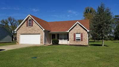 Lascassas Single Family Home Under Contract - Showing: 1054 Thompson Farms St