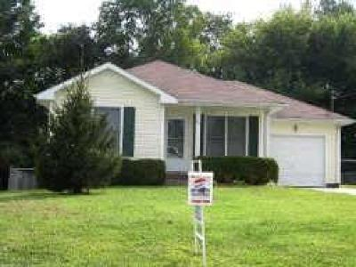 Christian County, Ky, Todd County, Ky, Montgomery County Rental For Rent: 795 Princeton Cr