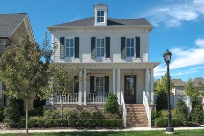 Franklin Single Family Home Under Contract - Showing: 312 Fitzgerald St