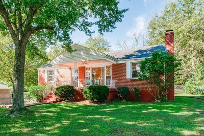 Nashville Single Family Home For Sale: 4503 Helmwood Drive