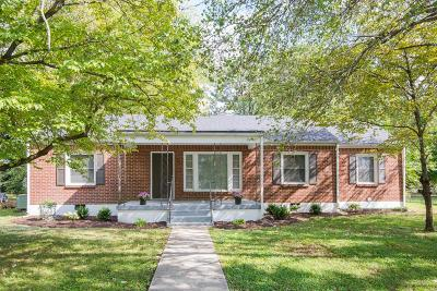 Murfreesboro Single Family Home Under Contract - Showing: 425 2nd Ave