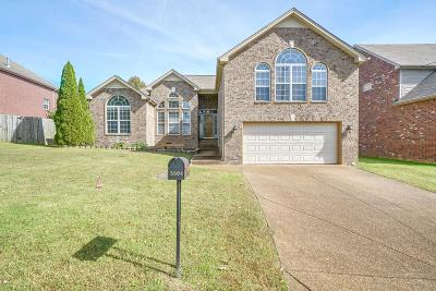 Davidson County Single Family Home For Sale: 5504 Craftwood Dr