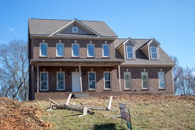 Columbia Single Family Home For Sale: 1386 Theta Pike Lot 4