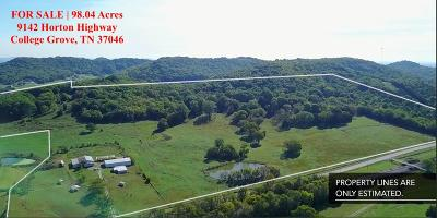 Rutherford County Residential Lots & Land For Sale: 9142 Horton Highway