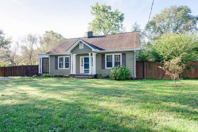 Nashville Single Family Home For Sale: 1222 Greenland Avenue