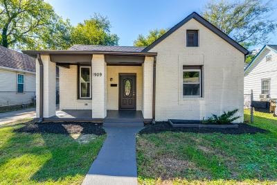 Nashville Single Family Home For Sale: 1909 12th Ave N