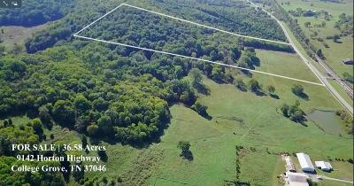 Rutherford County Residential Lots & Land For Sale: Horton Highway
