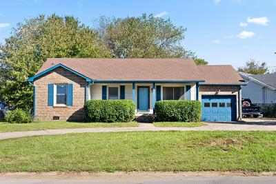 Clarksville Single Family Home For Sale: 844 Iris Ln