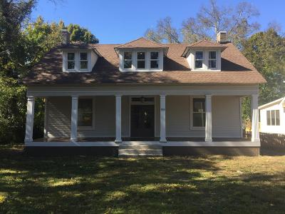 Nashville Single Family Home For Sale: 903 N 14th St