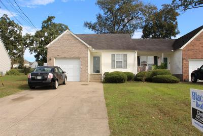 Smyrna, Lascassas Single Family Home Under Contract - Showing: 321 Wesley Dr