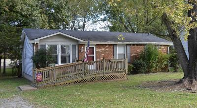 Clarksville Single Family Home For Sale: 384 Louise Lane