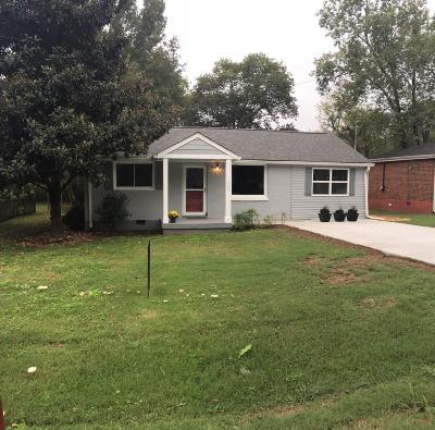 Goodlettsville Single Family Home Under Contract - Not Showing: 228 McCoin